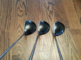 Pinhawk Single Length Fairway Woods Top
